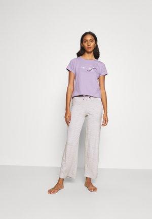 DAISY TEE & PANT  - Pyjama - lilac/grey