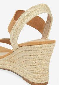 Next - High heeled sandals - brown - 2