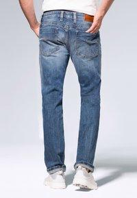 Camp David - Straight leg jeans - medium blue used - 2