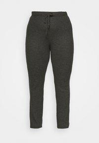 PCCIRCLE - Leggings - Trousers - dark grey malange