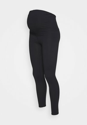 MATERNITY CORE OVER BELLY - Legging - black