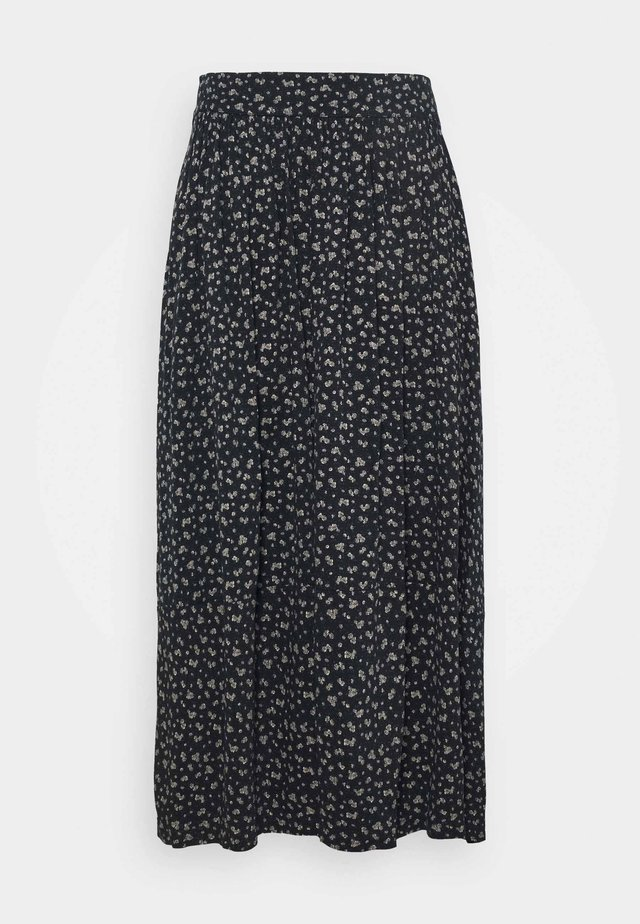 EANE SKIRT - Áčková sukně - black