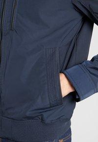 TOM TAILOR - BLOUSON WITH ZIPPERS - Light jacket - sky captain blue - 4