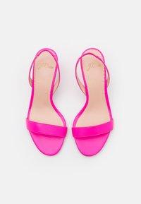 J.CREW - SIMPLE SLINGBACK NAN  - Sandals - neon flamingo - 4