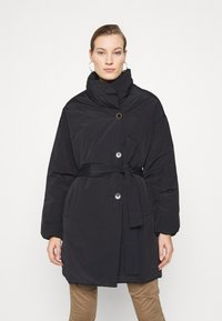 Mos Mosh - NELL PUFF COAT - Classic coat - black - 0