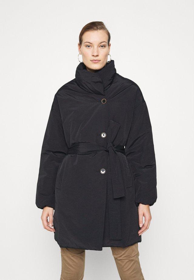 NELL PUFF COAT - Zimní kabát - black