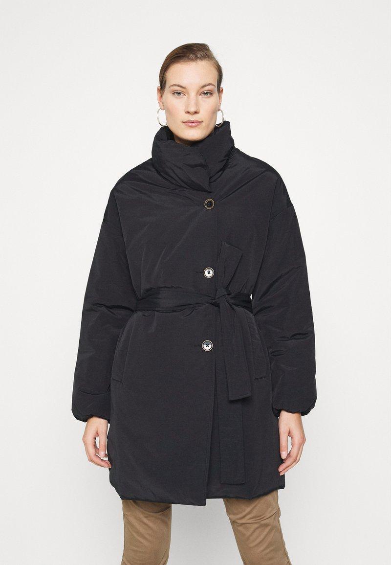 Mos Mosh - NELL PUFF COAT - Classic coat - black