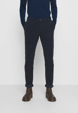 ALBERTSON - Trousers - navy