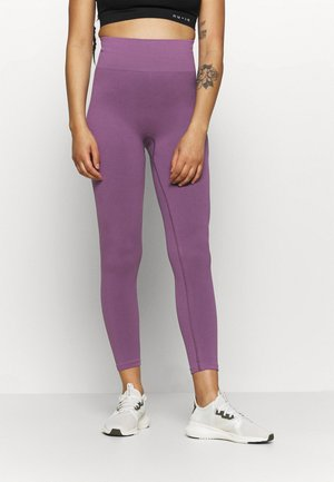 HIGH WAIST COMPRESSION SEAMLESS  - Tights - purple