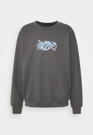 MENNACE CHINESE DRAGON SWEAT - Sweatshirt - dark grey