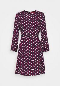 MAX&Co. - NARCISO - Vapaa-ajan mekko - burgundy - 5