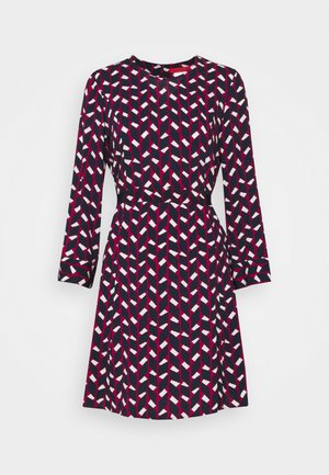 NARCISO - Day dress - burgundy