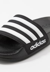 adidas Performance - ADILETTE SHOWER - Rantasandaalit - core black/footwear white - 5