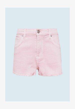 PATTY  - Denim shorts - washed rosa
