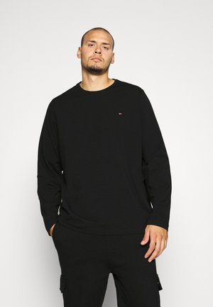 STRETCH LONG SLEEVE TEE - Longsleeve - black