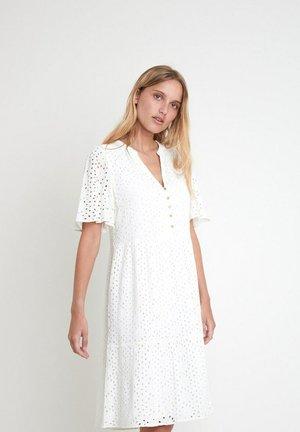 Korte jurk - ecru