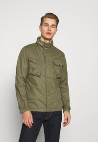 Schott - Summer jacket - khaki - 0