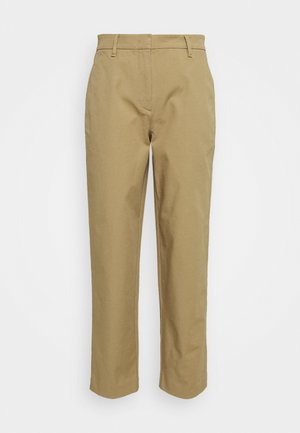 PANTS STRAIGHT LEG - Trousers - sandy beach