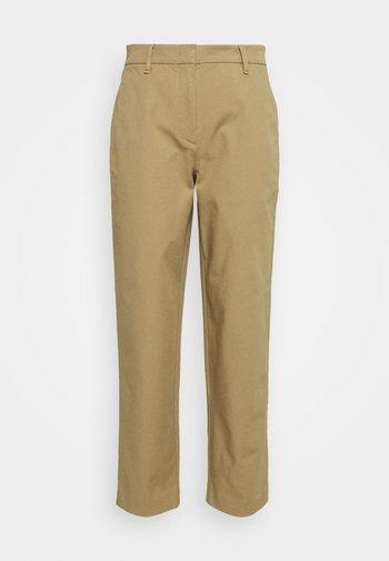 PANTS STRAIGHT LEG - Trousers - sandy beach