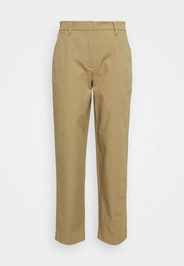 PANTS STRAIGHT LEG - Kalhoty - sandy beach