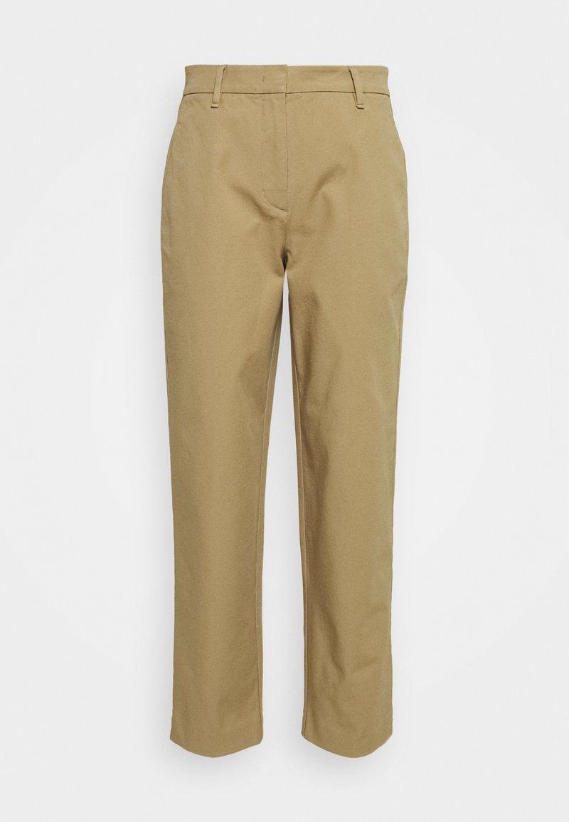 Marc O'Polo - PANTS STRAIGHT LEG - Trousers - sandy beach
