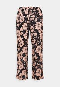 KLIMT - Trousers - black flower