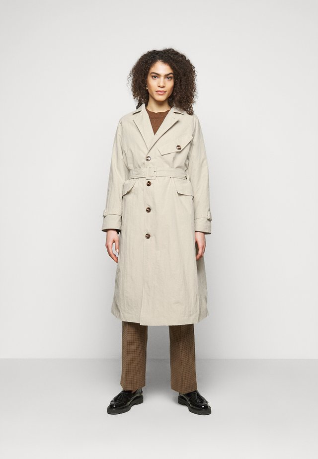 TATIANA - Trenchcoat - birch