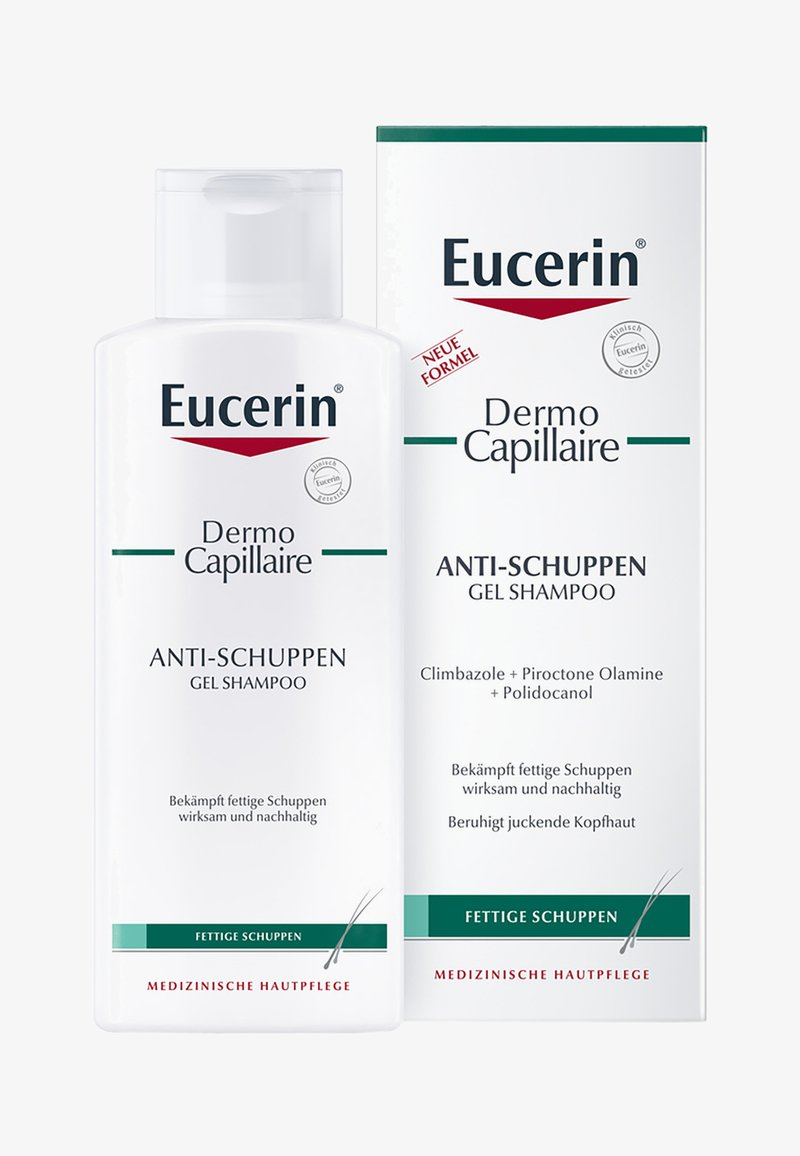 Eucerin - SHAMPOO ANTI-SCHUPPEN GEL SHAMPOO DERMOCAPILLAIRE, MILDE FORMEL - Shampoo - -