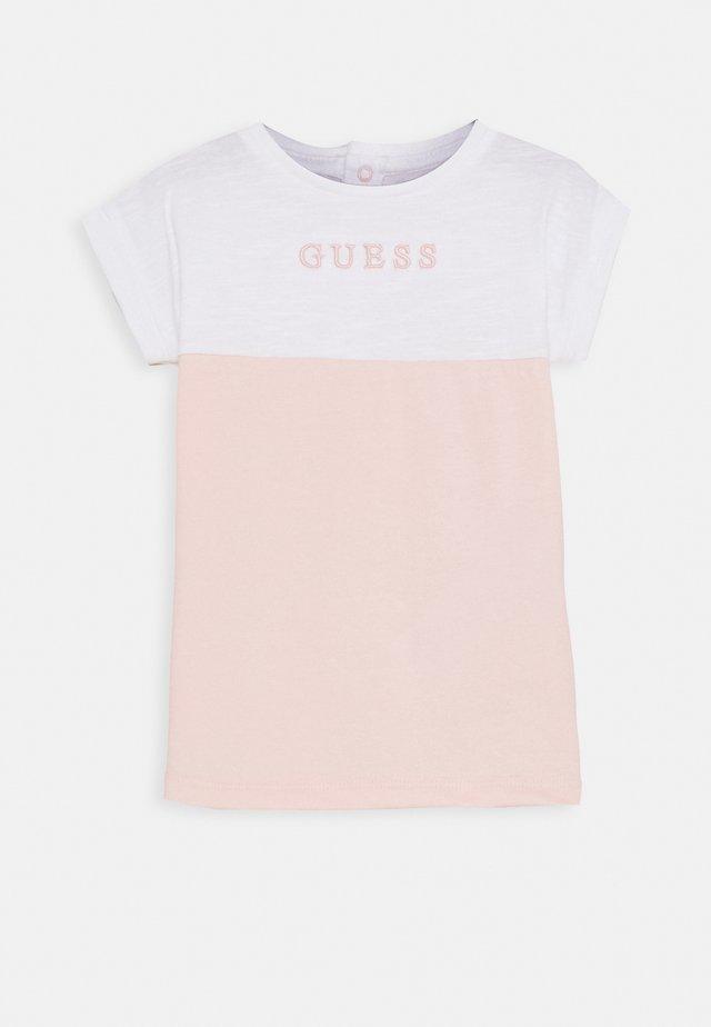 DRESS BABY SET - Robe en jersey - pink sky