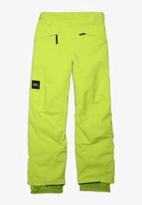 O'Neill - ANVIL PANTS - Snow pants - lime punch - 0