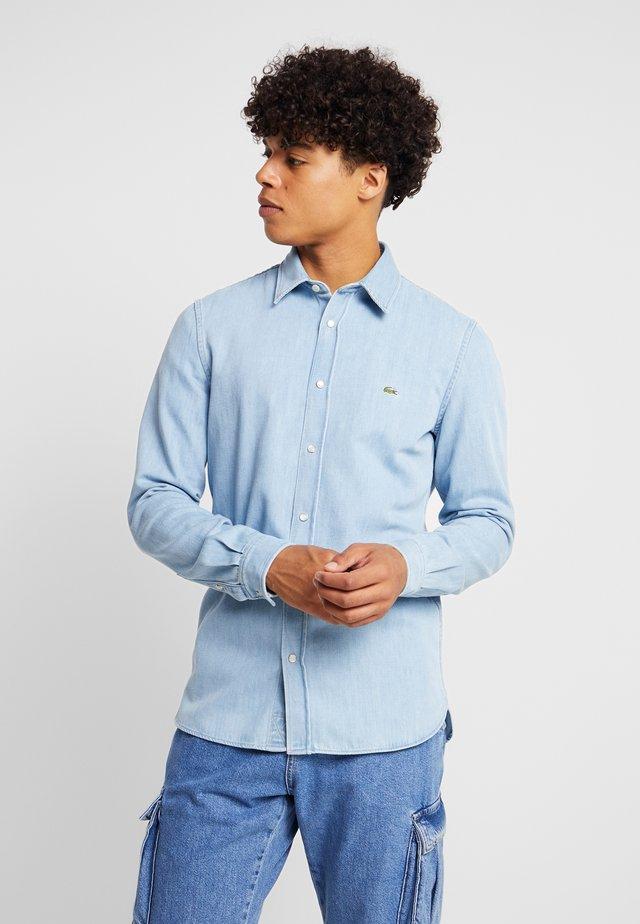 Overhemd - bleach denim