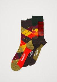 Happy Socks - CLASSICS 3 PACK - Socks - multi browns - 0