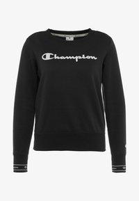 Champion - CREWNECK - Collegepaita - black - 4