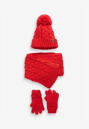 3 PACK - Scarf - red