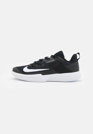 COURT VAPOR LITE - All court tennisskor - black/white