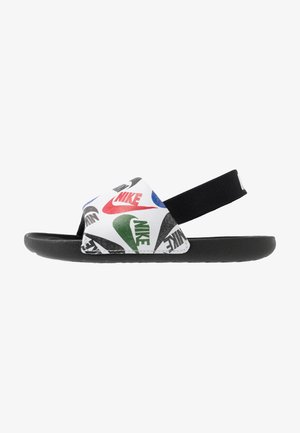 KAWA SLIDE SE - Badslippers - black/white