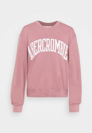 SEASONAL COLLEGIATE LOGO CREW - Sweatshirt - nostalgia rose