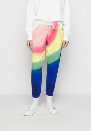LOOPBACK - Tracksuit bottoms - multi-coloured