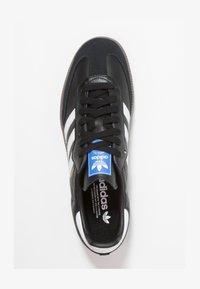 adidas Originals - SAMBA - Trainers - cblack/ftwwht/gum5 - 1