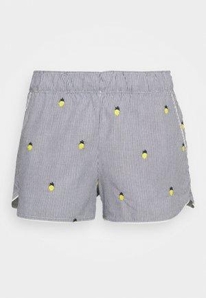 SUM POPLIN SHORT - Shorts - light blue/yellow