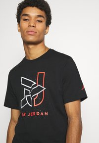 Jordan - BRAND CREW - T-shirt con stampa - black - 3