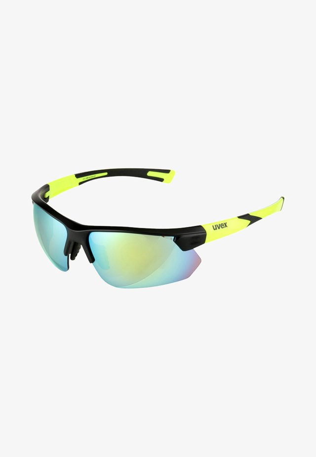 SPORTSTYLE 221 - Sports glasses - black mat yellow