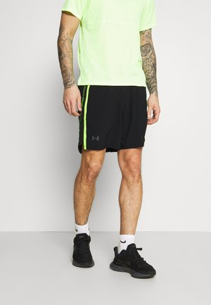 LAUNCH TAPE SHORT - Sports shorts - black