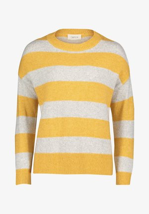 Jumper - yellow/grey