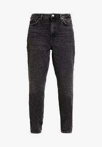 Topshop - MOM NEW - Jeansy Relaxed Fit - wash black - 3
