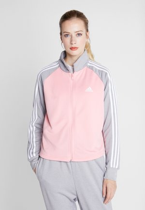 GAMETIME - Tracksuit - glow pink/medium grey heather