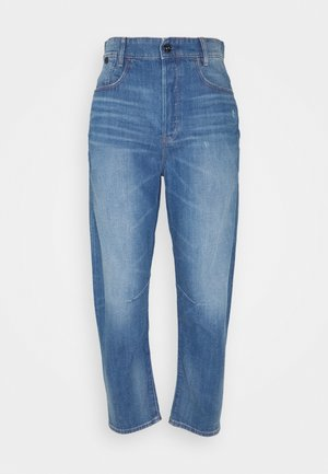 C-STAQ 3D BOYFRIEND CROP - Jean boyfriend - light-blue-denim