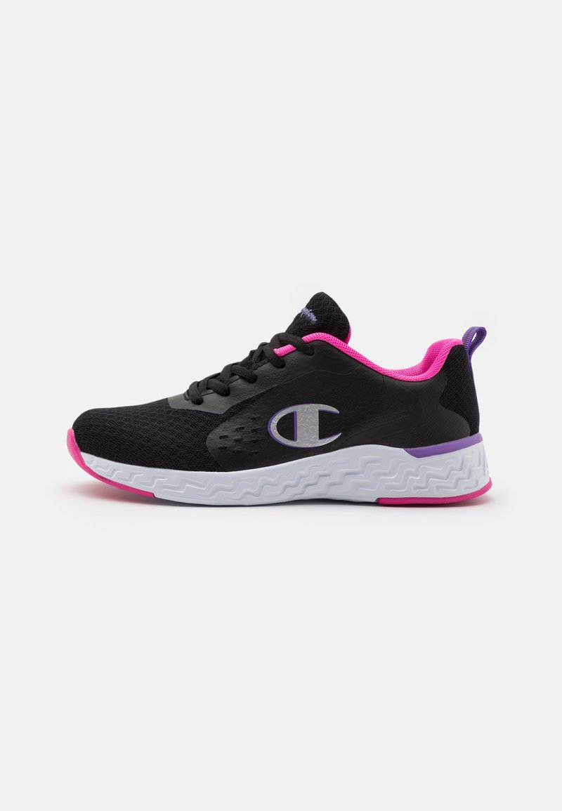 Champion - LOW CUT SHOE BOLD  - Sports shoes - black/fucsia