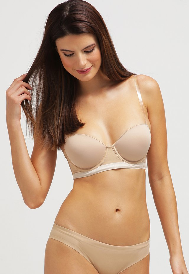 MODERN LIGHTS - Strapless BH - skinny dip