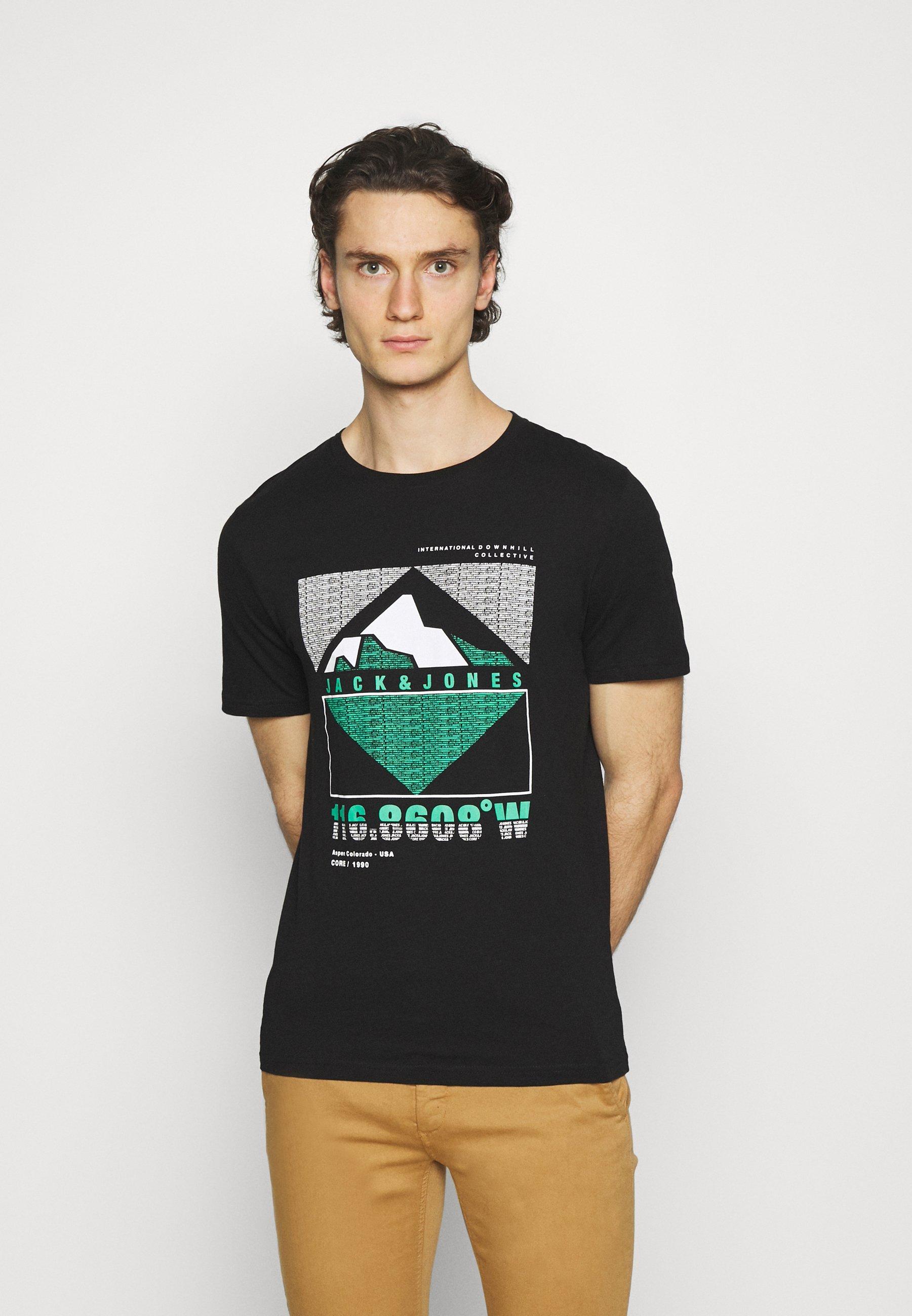 Men JCOCHRIS GIBS TEE CREW NECK - Print T-shirt